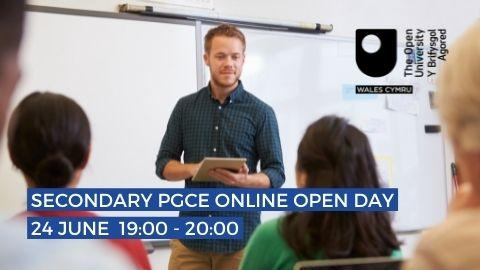 OU in Wales secondary PGCE online open day